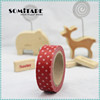 Free shipping writable printed masking tape/stationery tape/kraft paper tape for home decoration scrapbooking SOMITAPE