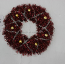 Professional Manufacture Christmas Tinsel Garland,Christmas Ball Ornament