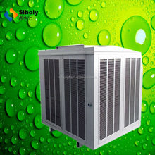 Huge airflow centrifugal industrial water cooler solar air conditioner split system