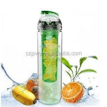 New product 32oz water bottle joyshaker disposable Tritan Plastic & Leak Proof fruit infuser water bottle infuser