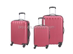 new design popular ABS luggage set fashion luggage trolley set carry on luggage