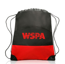 Mc Handbags Wholesale,Drawstring Stopper,Plastic Backpack In Plastic