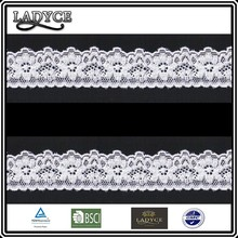 European and Americon popular Elastic lace trim