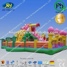 Beach inflatable animal bouncers, PVC inflatable fun city, giant inflatable bouncer equipment