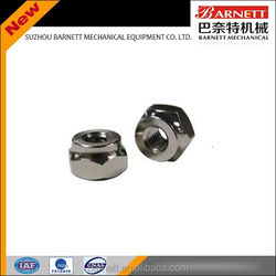 High strength aluminum weld nut m16 din934 locking nuts