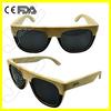 2015 handmade military sunglasses with tube bamboo case