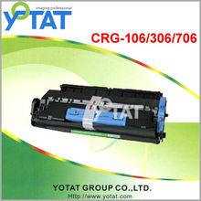 Office supplies toner for Black toner Cartridge CRG-106 / CRG-306 / CRG-706 Compatible for Canon