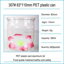 Eco-friendly,can recycling 16oz french square beverage plastic bottle