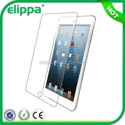 Ultra thin 9H hardness brand elippa HD clear screen protector for ipad mini