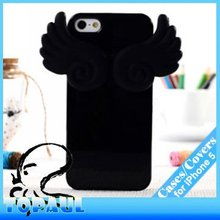Flash Guardian Angel Wing Soft Jelly Fitted Case phone accessory For iphone 5