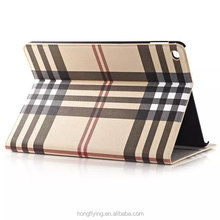 2015 New arrival fashion leather case for ipad air 2, factory leather case for ipad air 2