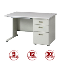 Modern design cheap metal frame home used durable computer table