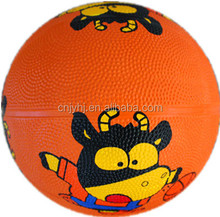 Durable new arrival hot selling rubber bouncing basketball