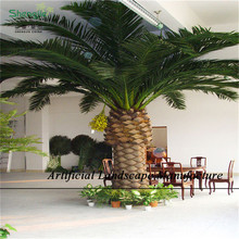 SJLD04 Decorative Artificial date palm /fake date palm tree
