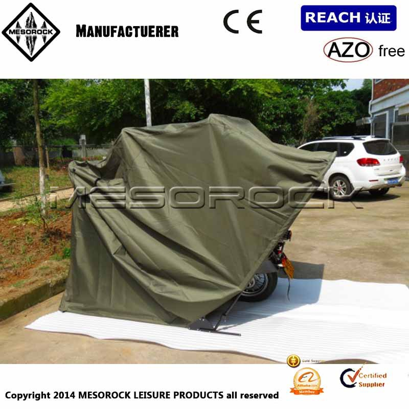 Motorcycle bike folding cover storage shed waterproof - Motorcycle foldable garage tent cover ...