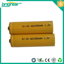 nicd cell nicd battery 1.2 voltage 600mah aa size
