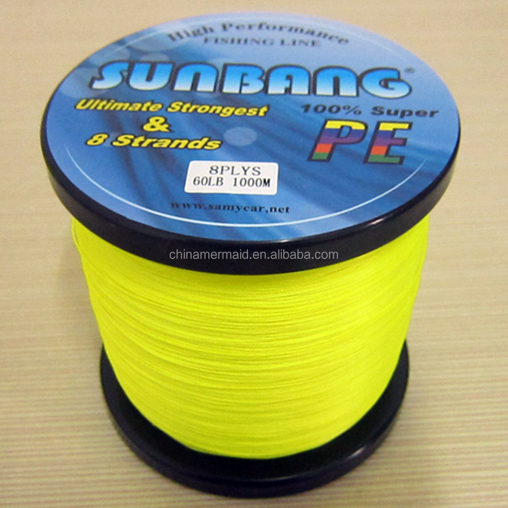 20lb braided floating fishing line polyethylene material for 20 lb braided fishing line