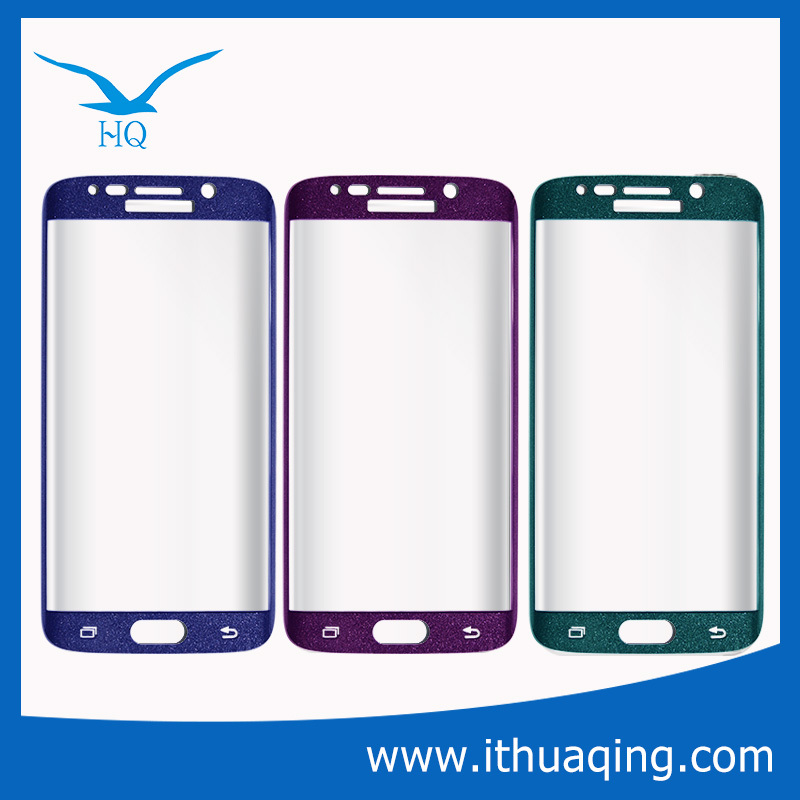 Colorful Tempered Glass Screen