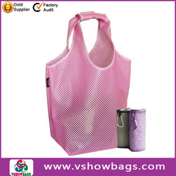 nylon foldable cheap shopping bag recycled foldable custom shopping bag foldable bag