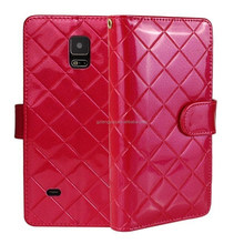 Well tested high quality pu leather cell phone cover case for samsung s4/s4 i9500