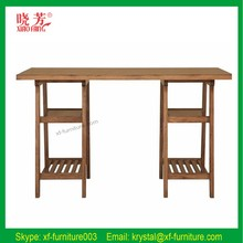 Simple but modern style good quality solid wood writing desk