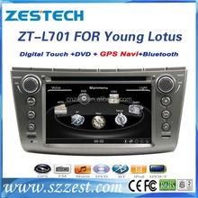 car video For Lotus L3 Yong/Proton Gen2/Persona video player bluetooth gps radio cd video audio usb/sd TVmusic navigation system