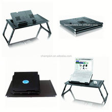 foldable laptop stand with 2 fans applicable to HP 15 inch laptop
