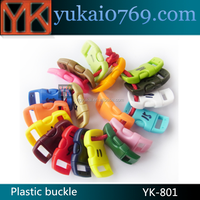 """Yukai 3/8"""" Curved Side Release Plastic buckle For Paracord Bracelet and bags"""