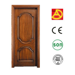 India simple sapele veneer painted interior wooden door frames and doors designs with frame for hotel/bedroom DA-245
