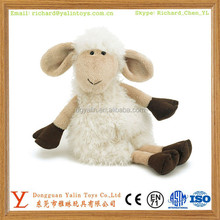 New design stuffed plush cute white sheep toy