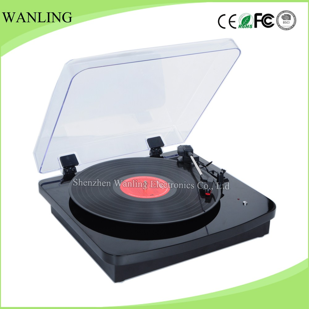 High End Stereo Gramophone Replica Vinyl Record Player For