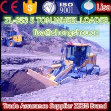 ZSZG 2015 23.5-25 Tyre,Pilot control, joystick, China cheap construction machinery wheel loader