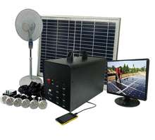 home solar electricity generation system and solar fan & lighting system