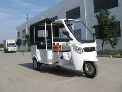 3 wheels electric motorcycle for 3 persons