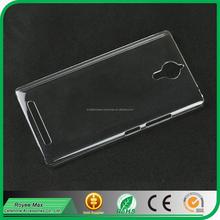 high quality mobile phone transparent case crystal back cover for Lenovo K80