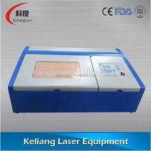 Kl-320 40w laser tubo macchina per incisione laser per la produzione ceramica