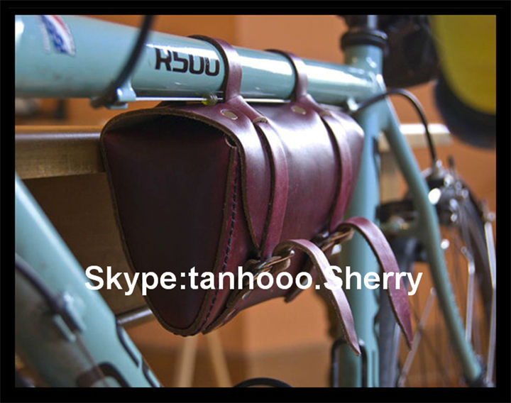 Leather Bicycle Saddles Leather Bicycle Saddle Bag/