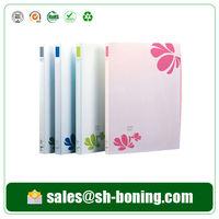 Fancy Design Flowers Plastic File Folder For School And Office