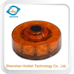 Octagon ceiling mounted led emergency amber beacon light