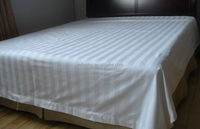 Cheap Hotel Bed Linen,White Bed Sheet/ Flat Sheet