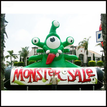2015 Hot sale giant inflatable monster for advertising