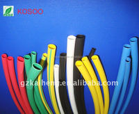 2015 Wholesale small size yellow/green/red/black/white heat shrinkable tube
