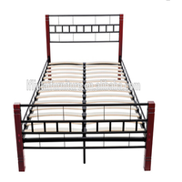 hot sale wood post bed latest metal bed designs