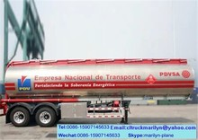 45000 liters fuel tank trailer iso tank containers for oil second hand fuel tanker trailer