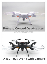 Upgrade Remote Control Quadcopter X5SC RC Helicopter with 2.0MP Camera Toys Drone Gift For Children