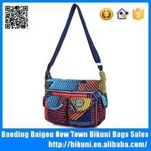 Vintage common design nylon messenger bag for women made with high quallity
