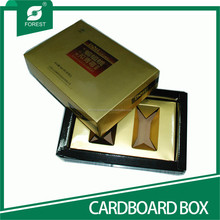 SPECIAL PAPER MATERIAL CARDBOARD PACKING BOXES WITH EMBOSSING LOGO
