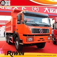 12t 13t 14t chinese new brand 290hp 250KW diesel engine loading capacity sand stone mine euro3 6x4 truck dump