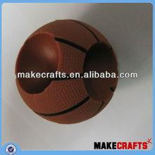 basketball shape mini amplifier, mobile music portable basketball amplifier small audio mini silicone amplifier