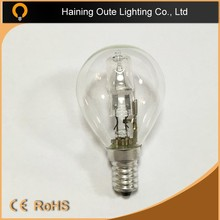 halógeno 110 v halógena bulbo de la vela c35, a55, g80, g95, ST64 tipos 28 w